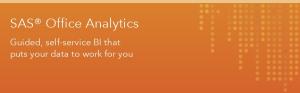 SAS Office Analytics email banner