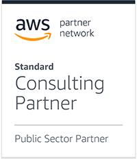 Amazon Web Services Public Sector Partner logo