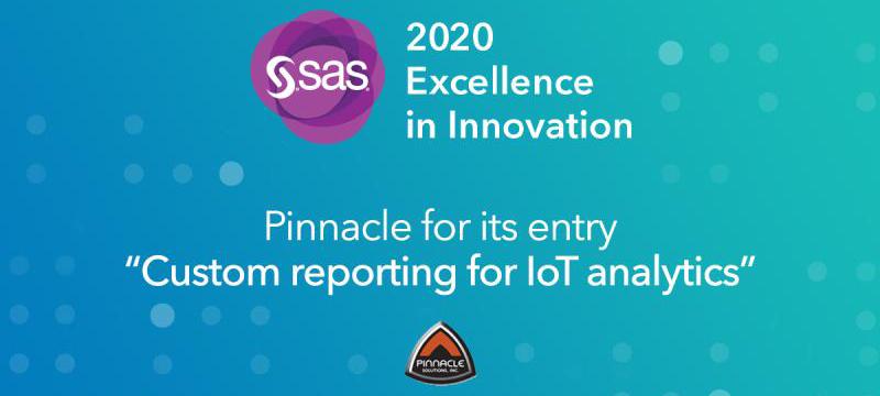 SAS Global Forum Excellence in Innovation Award Banner